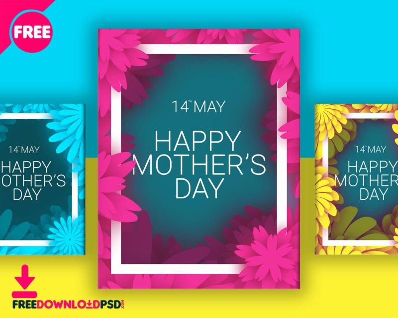 Mother Day Flyer Template Free Luxury [download] Mothers Day Colorful Flyer