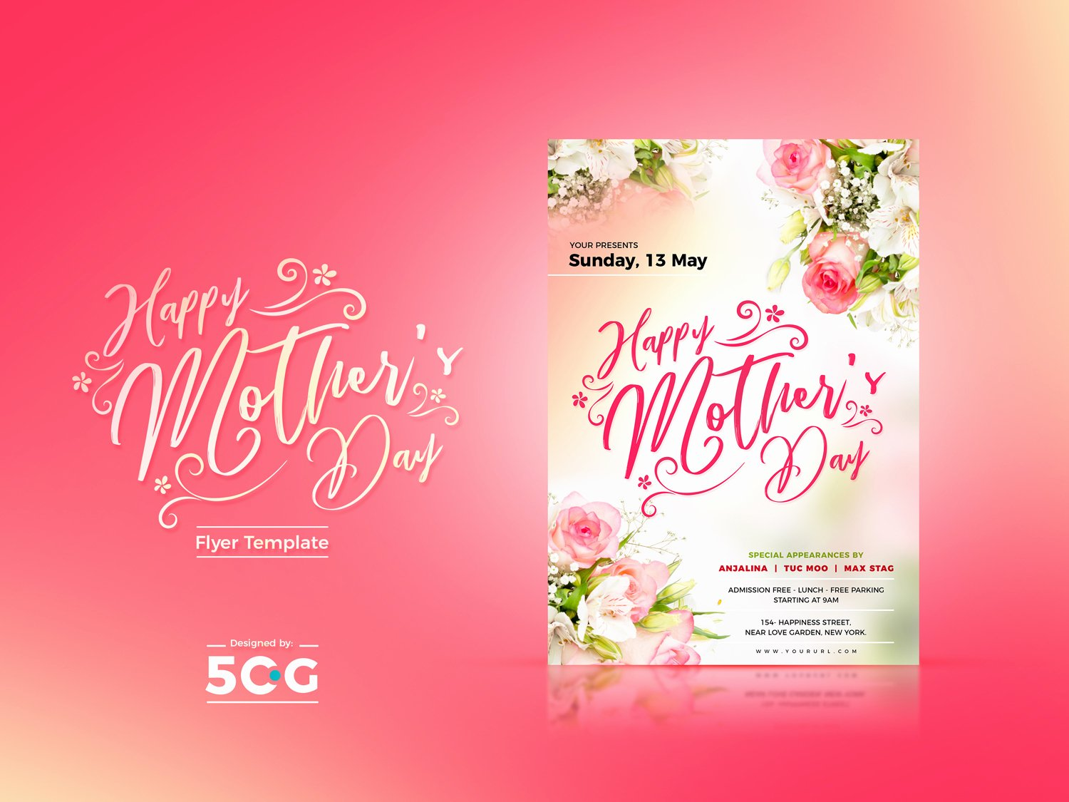 Mother Day Flyer Template Free Luxury Free Mothers Day Flyer Template 2018