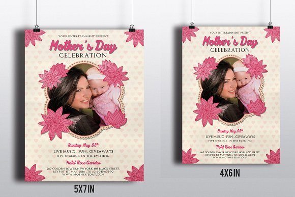 Mother Day Flyer Template Free Luxury Mother S Day Flyer Template V265 Flyer Templates