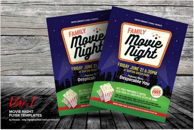 Movie Night Flyer Template Elegant 17 Best Festival Flyer Poster Templates and