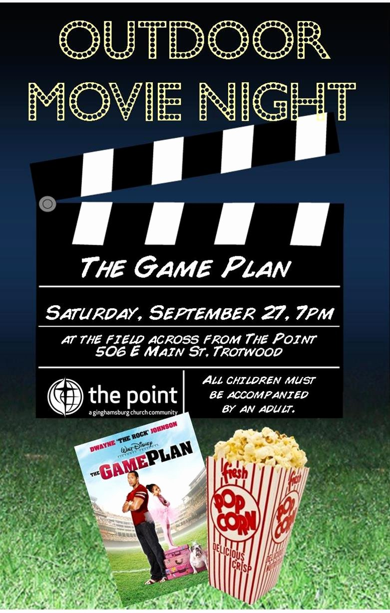 Movie Night Flyer Templates Lovely the Point S Action Packed Weekend Rosario Picardo