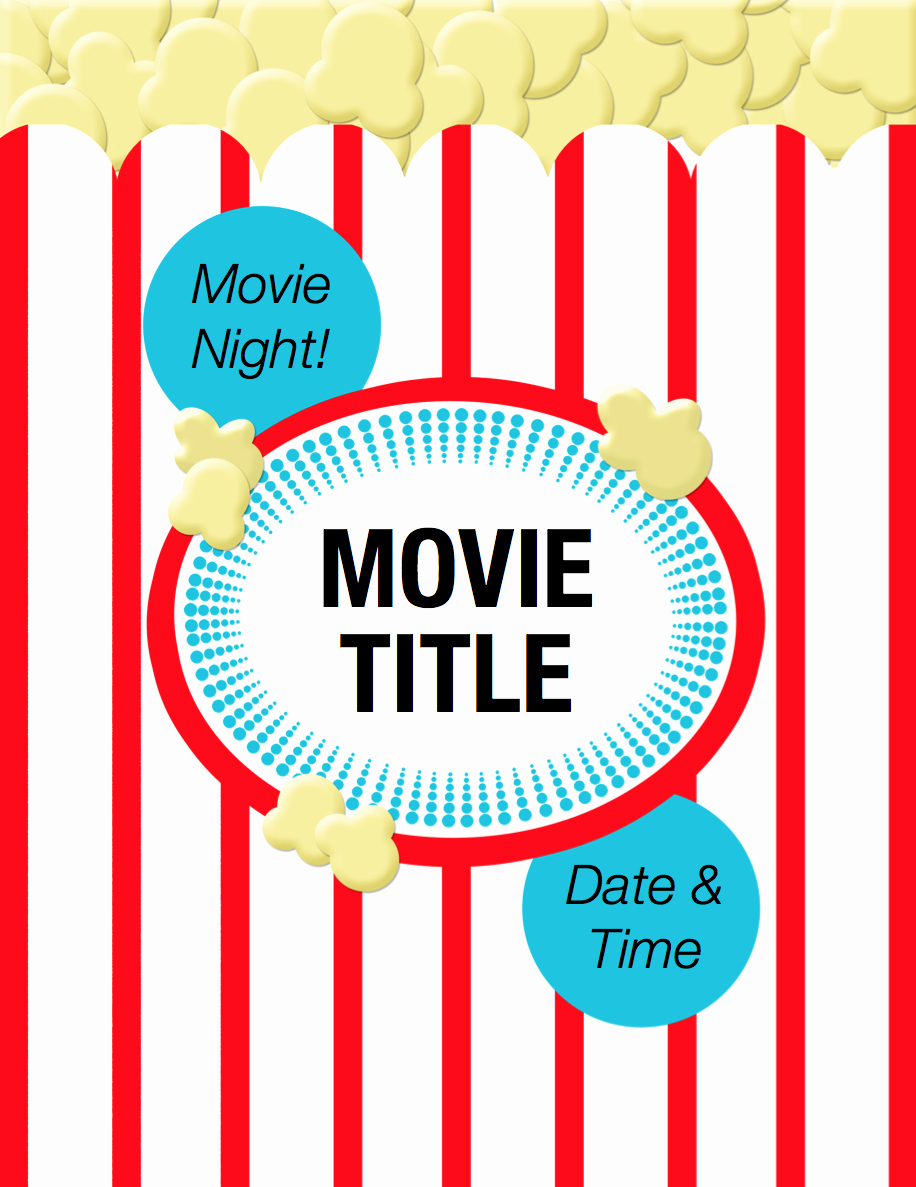Movie Night Flyer Templates Lovely Thinking Of Hosting A Movie Night Free Flyer