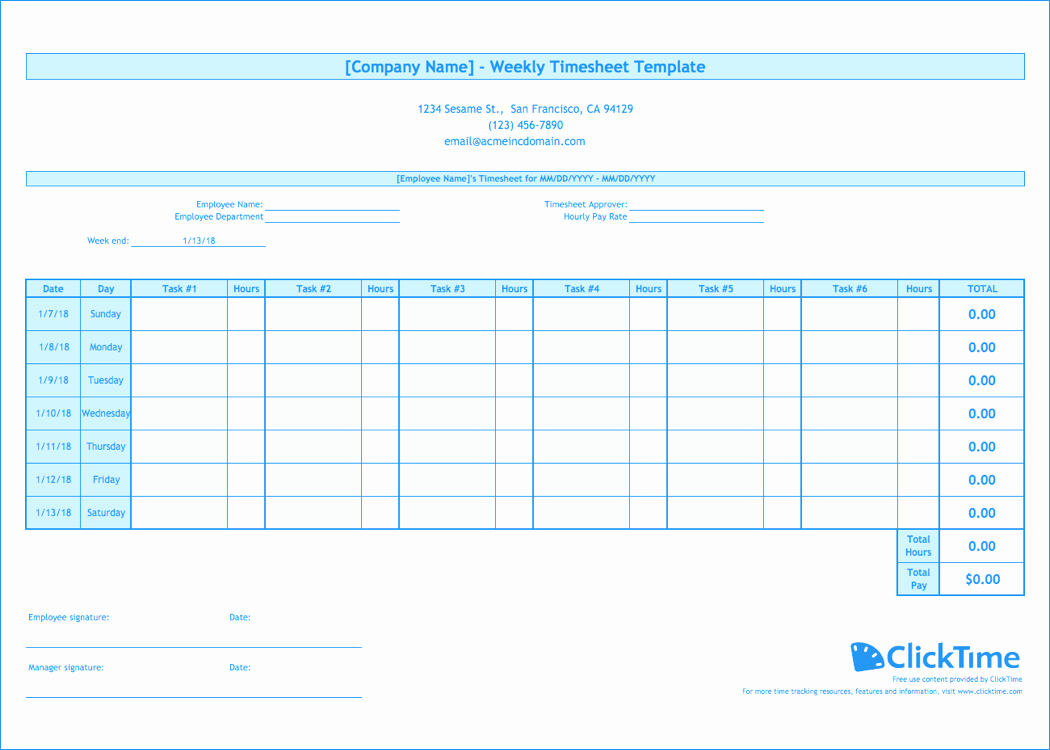 Multiple Employee Timesheet Template Luxury Weekly Timesheet Template Free Excel Timesheets