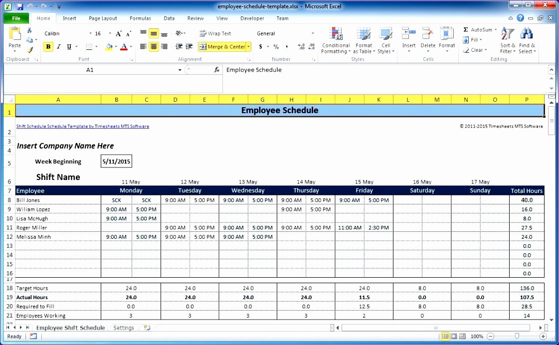 Multiple Employee Timesheet Template Unique 7 Free Excel Timesheet Template Multiple Employees