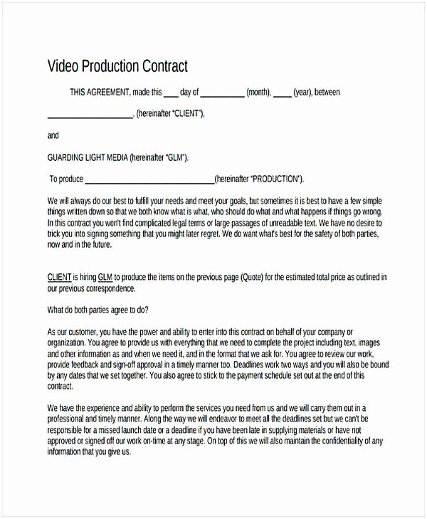 music producer contract