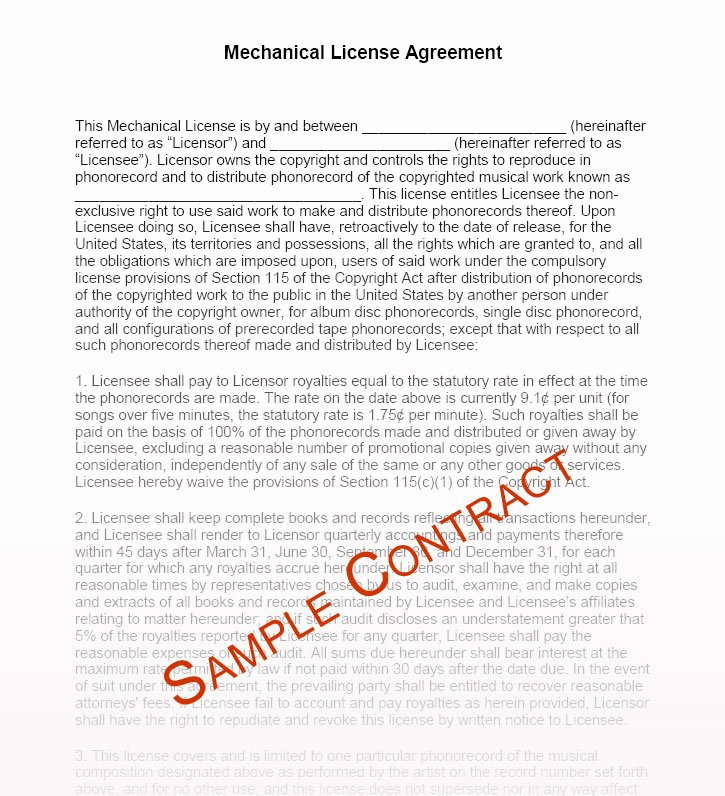 Music Producer Contract Template New Music Manager Contract Templates Music Management