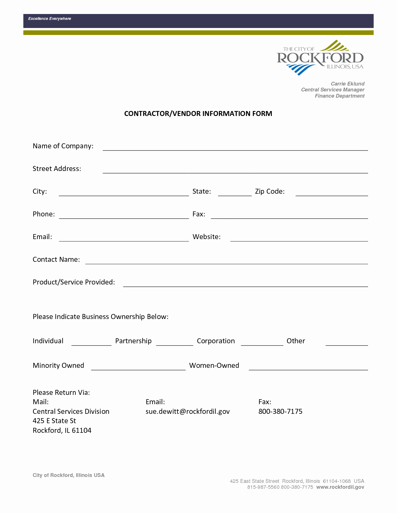 New Vendor form Template Awesome Best S Of Vendor Contact form Vendor Contact
