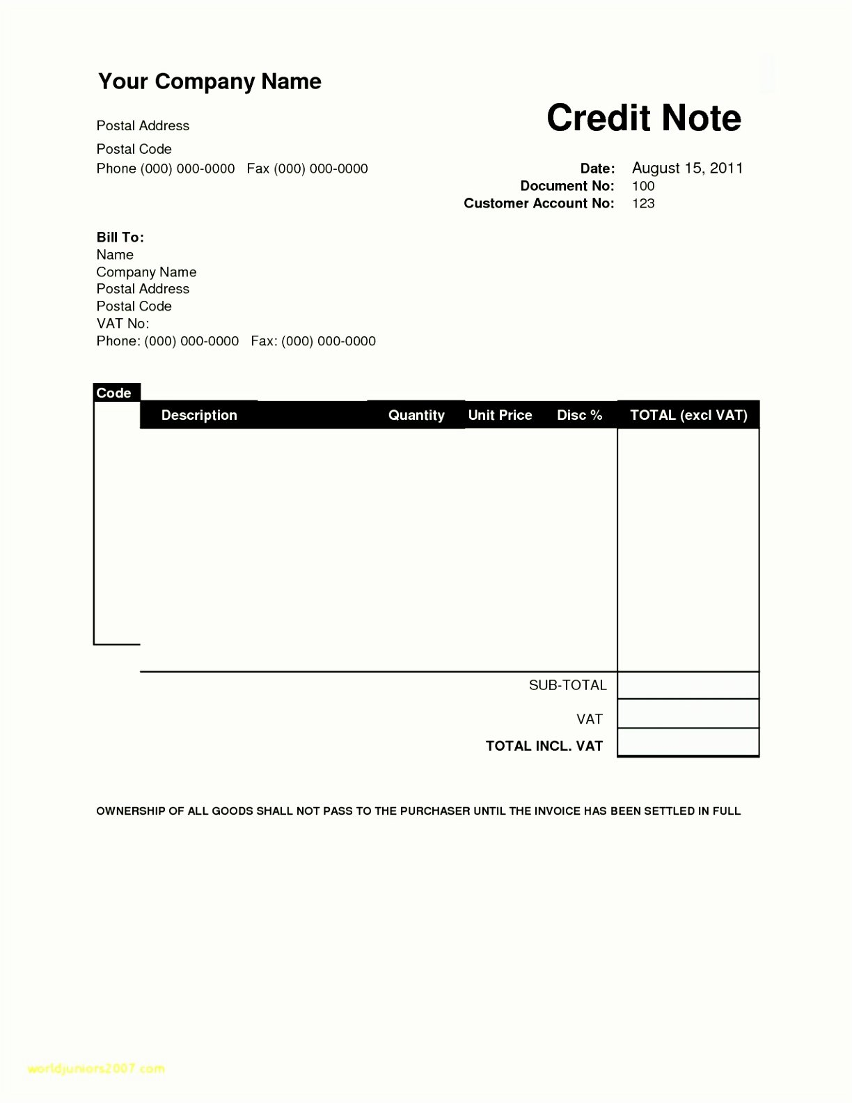 New Vendor form Template Best Of 9 New Vendor Template Sampletemplatez Sampletemplatez