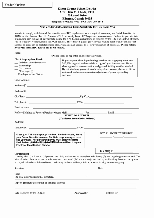 New Vendor form Template Unique top 6 New Vendor form Templates Free to In Pdf format