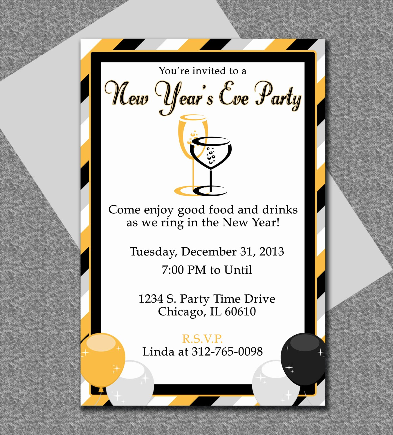 New Years Eve Invitations Templates Best Of New Years Eve Party Invitation Editable Template
