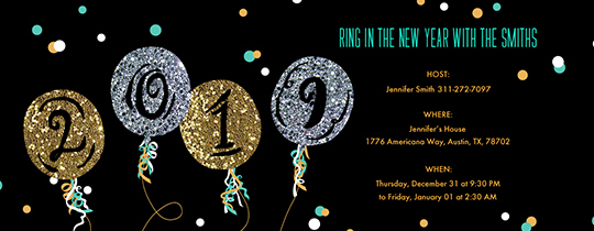 New Years Eve Invitations Templates Lovely Free New Year S Eve Party Invitations