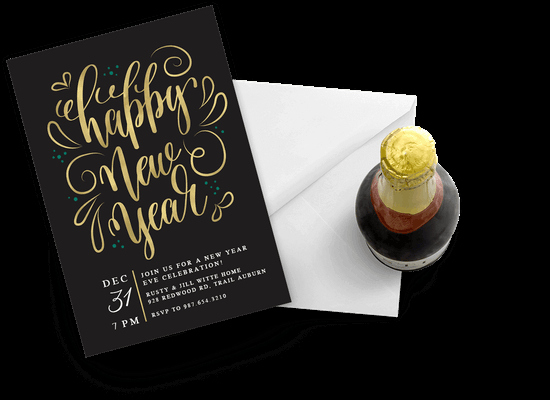 New Years Eve Invitations Templates New New Year S Eve Invitation Templates Free