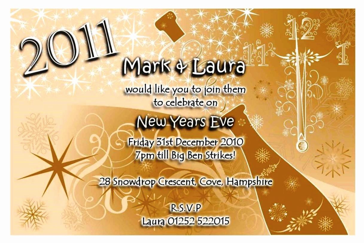 New Years Eve Invitations Templates New New Years Eve Party Invitation Templates