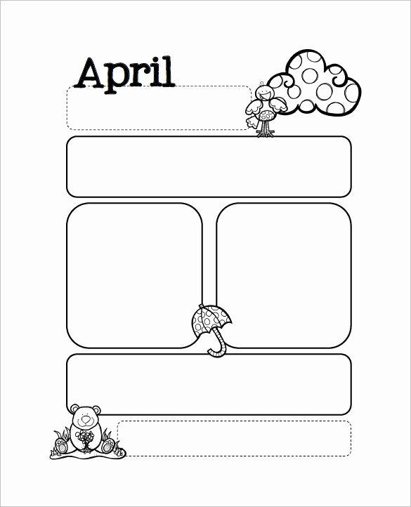 Newsletter Template for Preschool Fresh 13 Printable Preschool Newsletter Templates Free Word