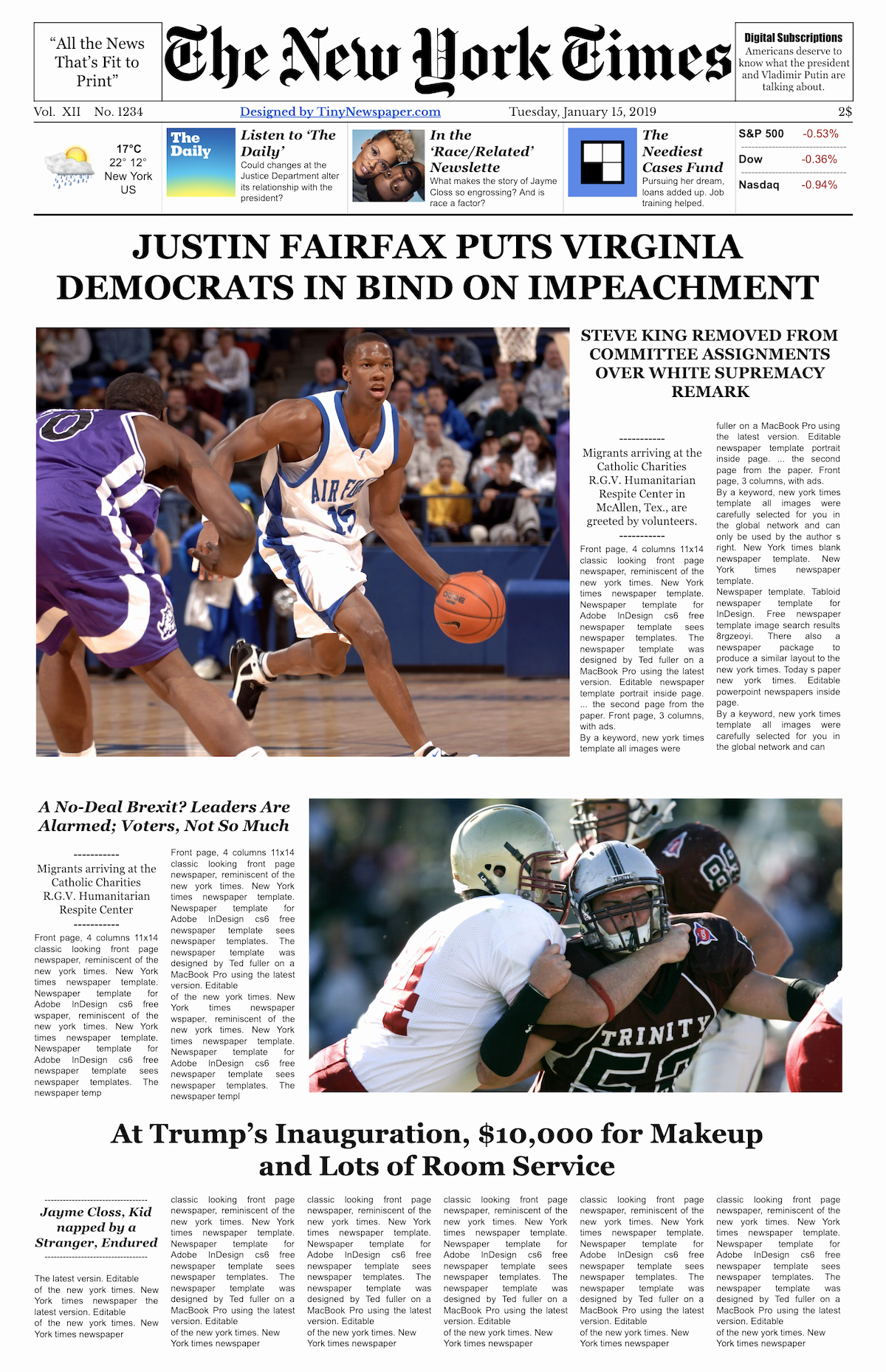 Newsletter Templates for Google Docs Elegant the New York Times Newspaper Template Google Docs Free