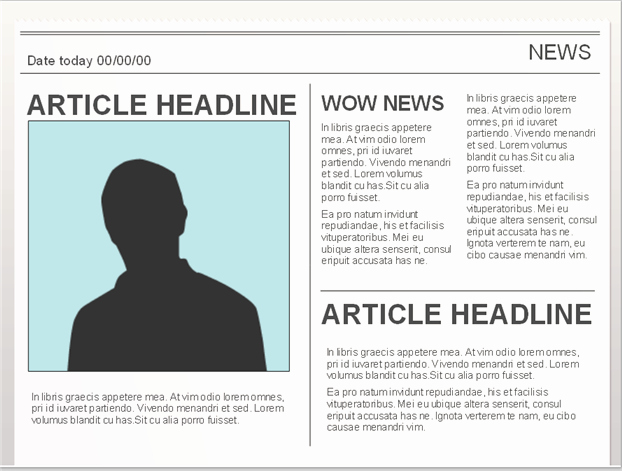 Newsletter Templates for Google Docs Inspirational Easy to Edit Google Doc Editable Newspaper Template to