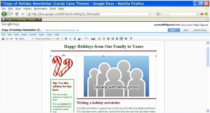 Newsletter Templates for Google Docs Inspirational Google Writer Docs Web 2 0 tools New Possibilities