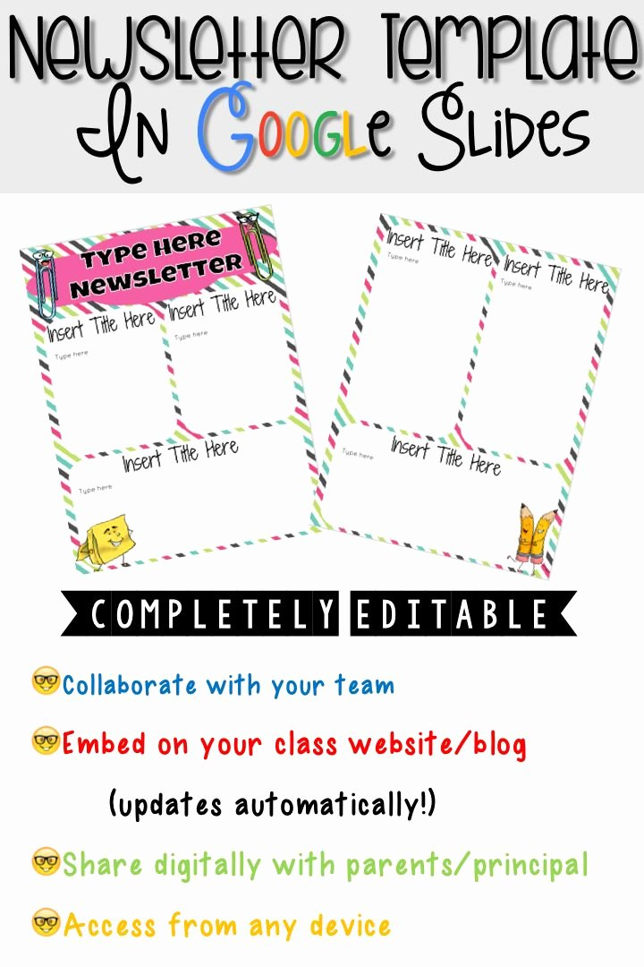 Newsletter Templates for Google Docs Unique 17 Best Images About School Library Newsletter On