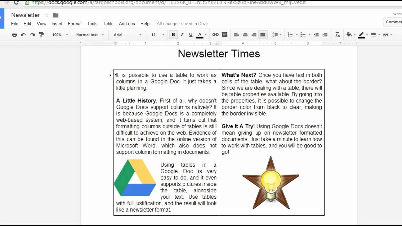 Newsletter Templates for Google Docs Unique Google Docs Newsletter