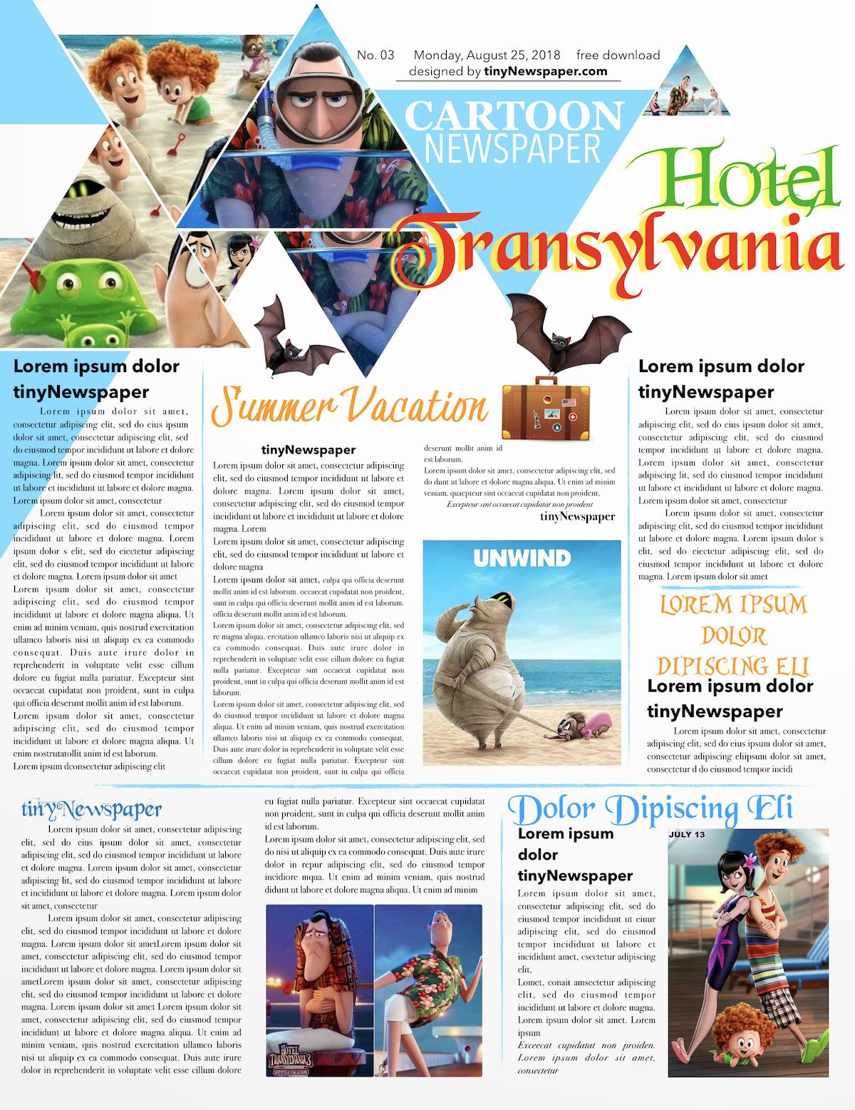 Newsletter Templates Google Docs Fresh Newspaper Template Google Docs Newspaper Layout Newspaper