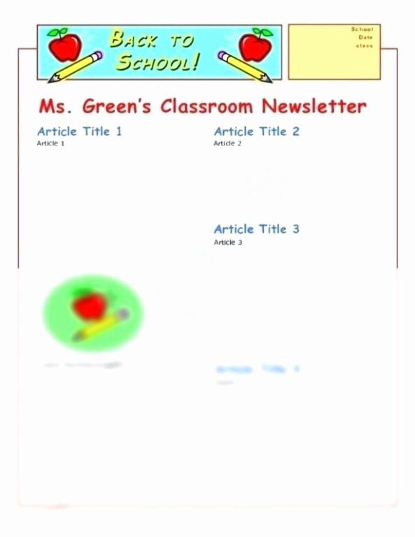Newsletter Templates Google Docs Inspirational Free Newsletter Templates Google Docs – Estemplate