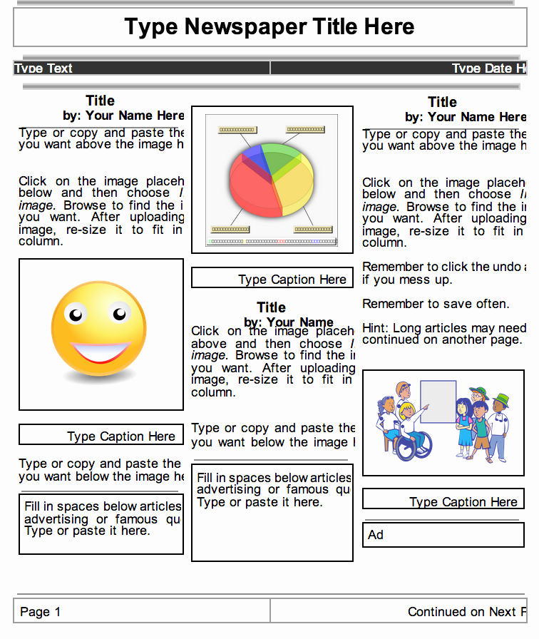 Newsletter Templates Google Docs Lovely 2 Beautiful Templates to Create Classroom Newspapers Using