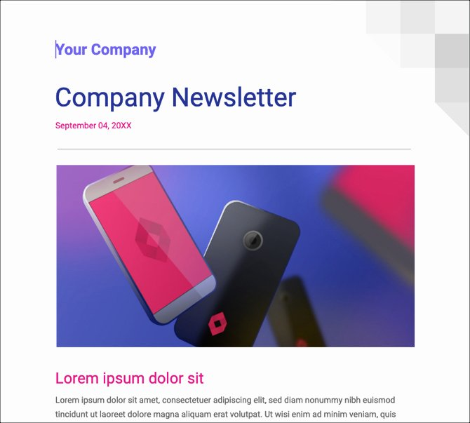 Newsletter Templates Google Docs Luxury 24 Google Docs Templates that Will Make Your Life Easier