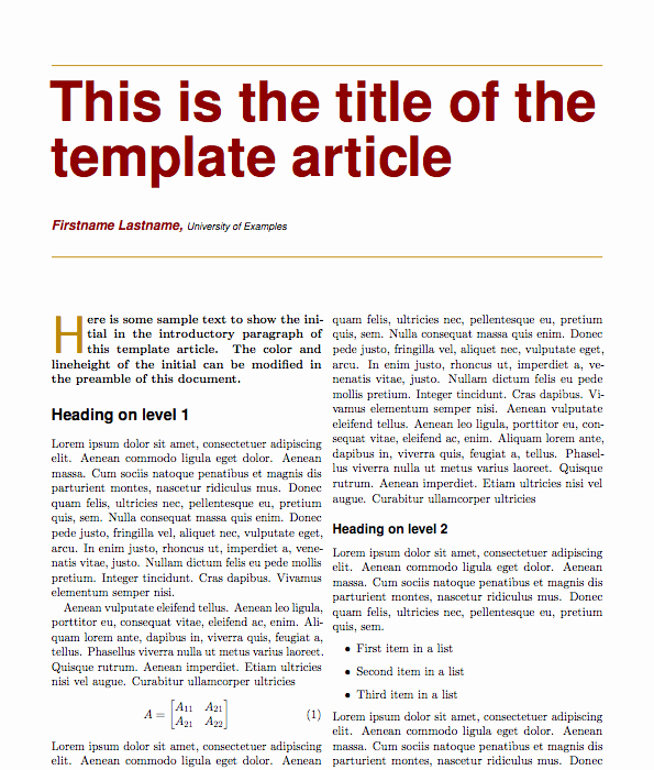 Newspaper Article format Template Awesome Magazine Article Template