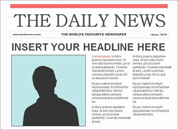 Newspaper Article format Template Elegant Free It S so Cool Editable Powerpoint