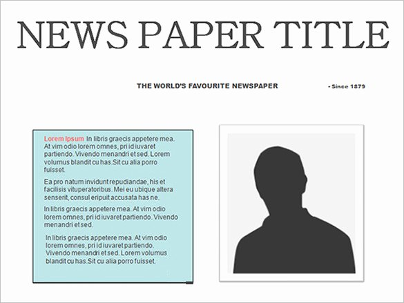 Newspaper Article format Template Lovely Free Newspaper Template 10 Blank Google Docs Word