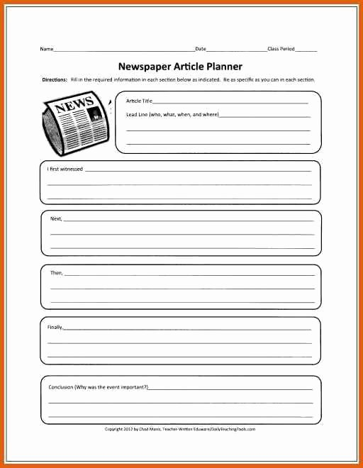 Newspaper Article format Template Unique 25 Best Newspaper Article Template Ideas On Pinterest