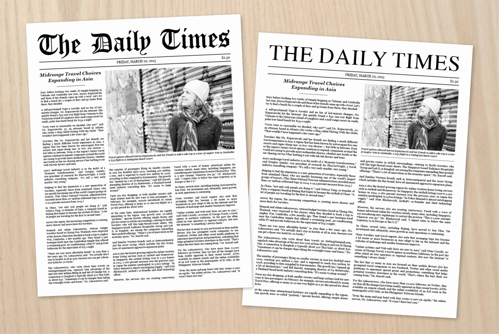 Newspaper Article format Template Unique Newspaper Article Template Stationery Templates