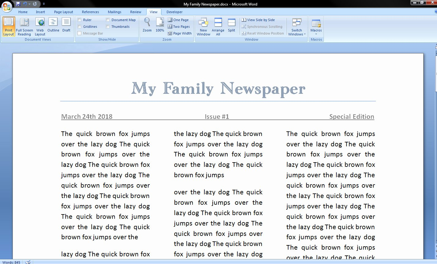 Newspaper Template for Microsoft Word Awesome How to Make A Newspaper On Microsoft Word