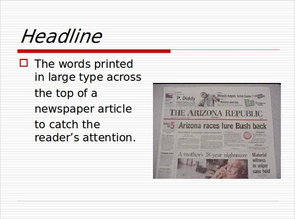 Newspaper Template for Ppt Awesome Sample Newspaper Powerpoint Template 6 Free Documents