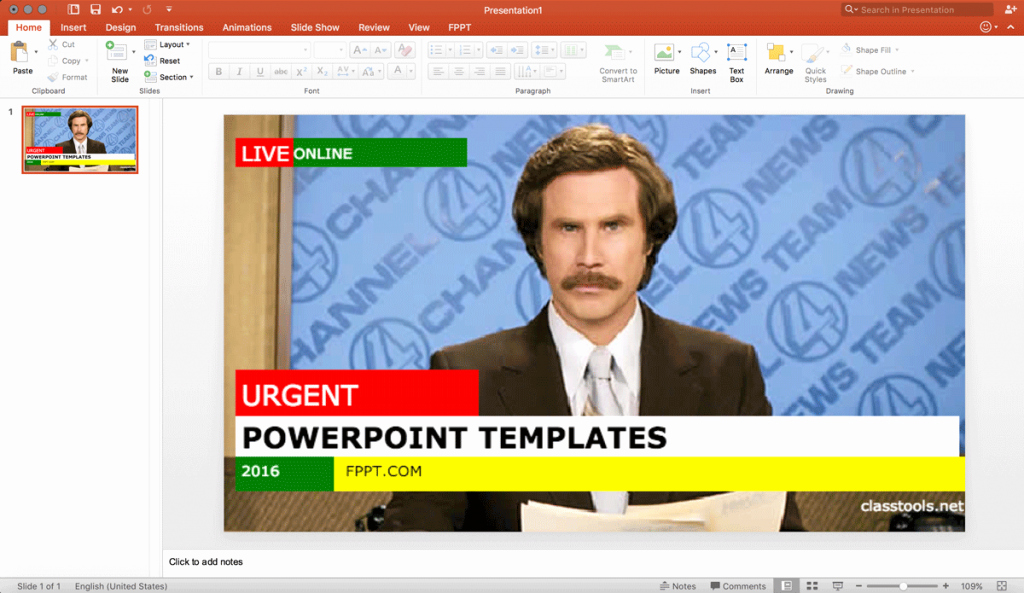 Newspaper Template for Ppt Awesome Using A Free Breaking News Generator to Make An Engaging