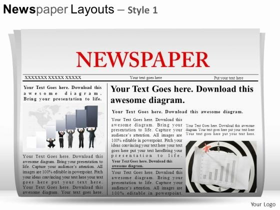 Newspaper Template for Ppt Beautiful Newspaper Background for Powerpoint