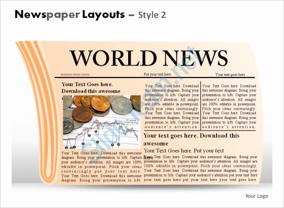 Newspaper Template for Ppt Best Of Powerpoint Newspaper Template – 21 Free Ppt Pptx Potx