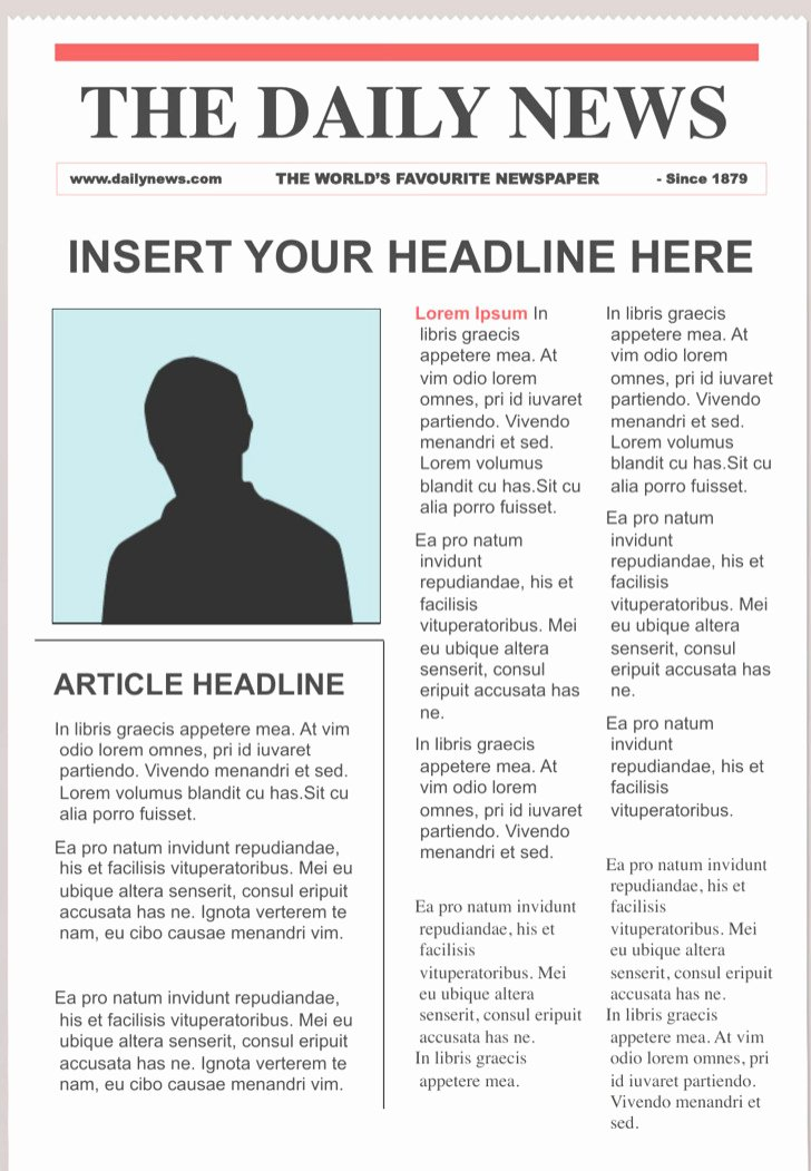 Newspaper Template for Ppt Elegant 28 Newspaper Templates Free Download