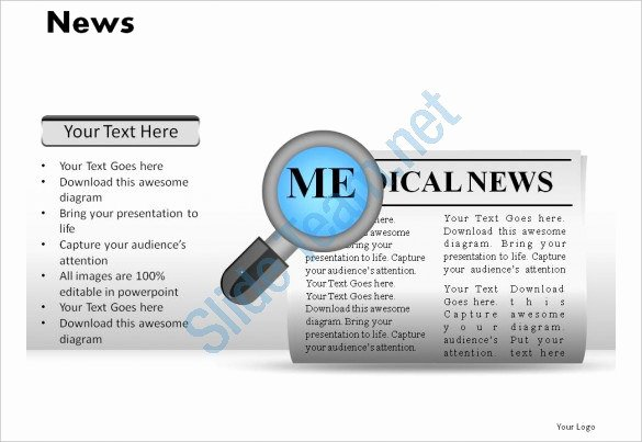 Newspaper Template for Ppt Luxury Powerpoint Newspaper Template – 21 Free Ppt Pptx Potx