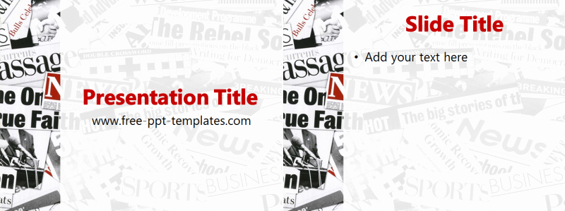 Newspaper Template for Ppt New Newspaper Ppt Template