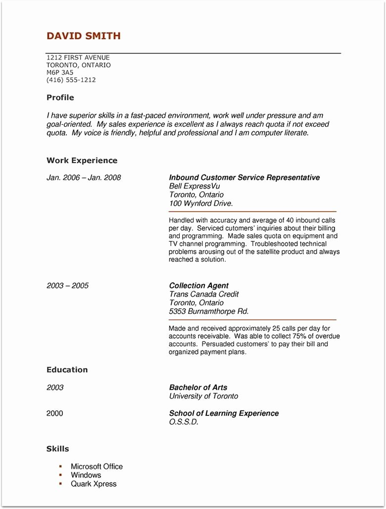 No Experience Resume Template Best Of Pin by topresumes On Latest Resume