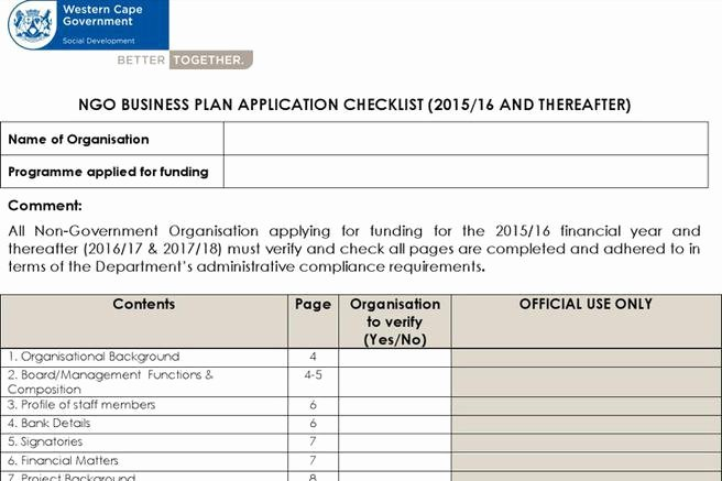 Non Profit Business Plan Template Best Of 303 Plan Templates Free Download