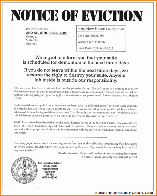 3 notice of eviction template