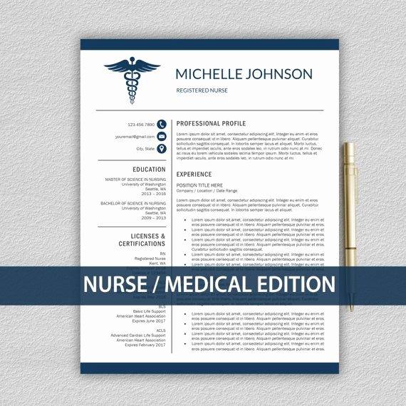 Nursing Resume Template Word Awesome Nurse Resume Template for Word Doctor Resume Template