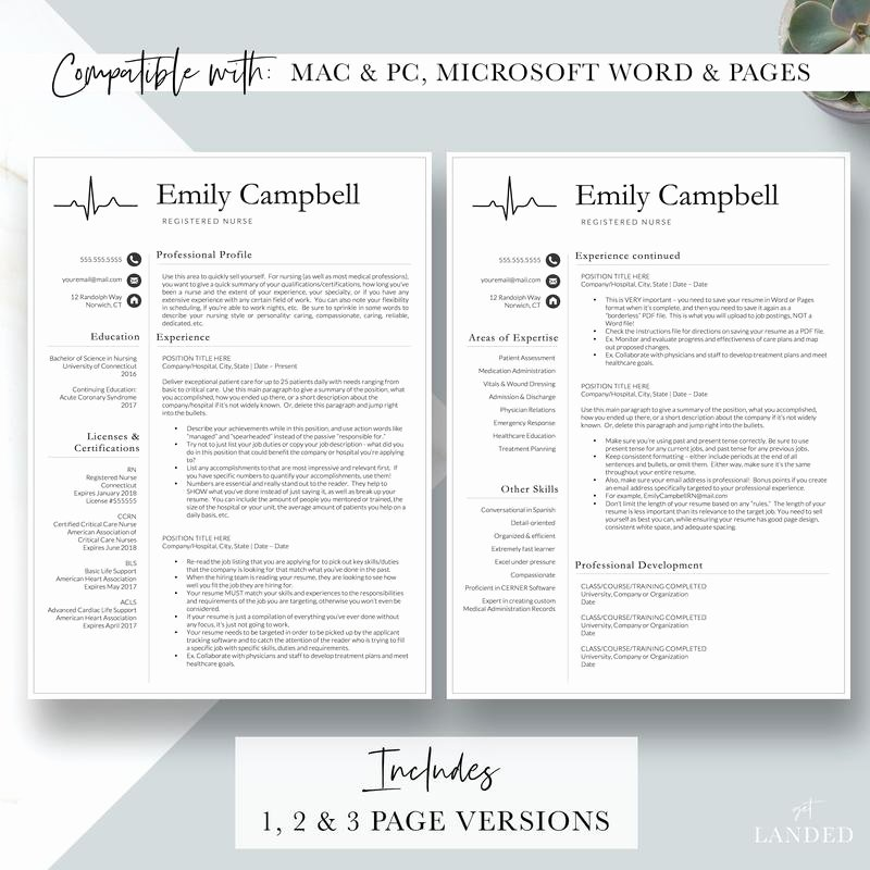 Nursing Student Resume Template Best Of Nurse Resume Template Cv for Nursing Student Nursing