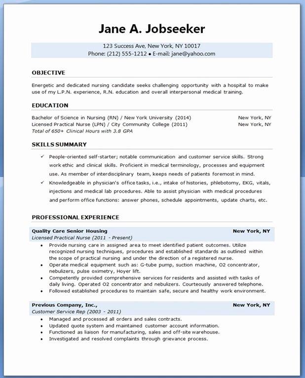 Nursing Student Resume Template Word Best Of Sample Resume for Nursing Student