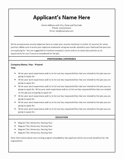 Nursing Student Resume Template Word Elegant Nursing Resume Template