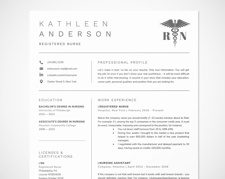 Nursing Student Resume Template Word Luxury Registered Nurse Resume Template for Word Nursing Resume