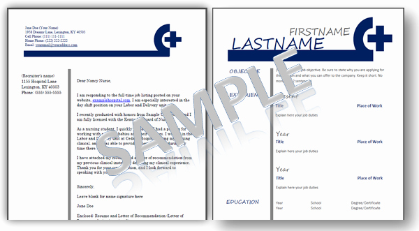 Nursing Student Resume Templates New Nursing Resume Templates Plus An Ebook Job Guide for Nurses