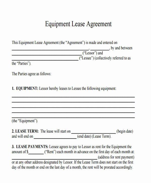 Office Lease Agreement Template Unique 35 Mercial Lease Agreement Samples Word Pdf Pages